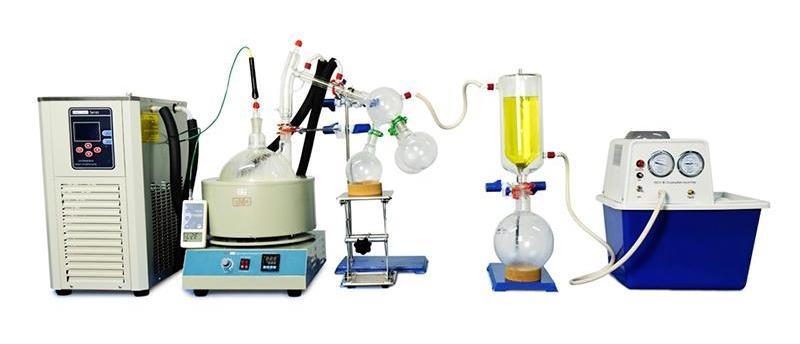Short Path Distillation - Apiezon PFPE 501