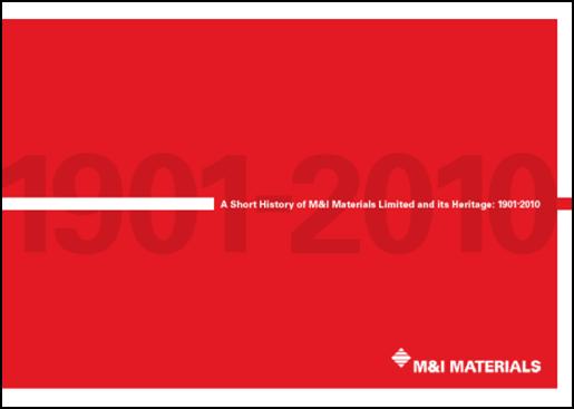 M&I Materials History Booklet
